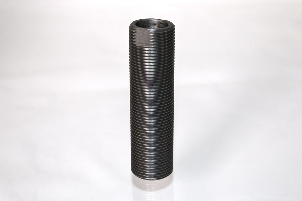 Threaded sleeve with wrench flats