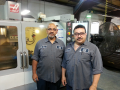 Omar and Sam (machining supervisors)