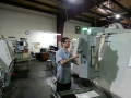 Josh programming CNC lathe