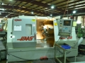 Haas SL30 CNC lathe with auto bar feed