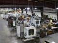 Machining department from mezzanine
