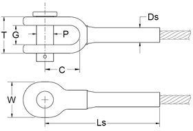 Open-Swage-Socket-Fitting-Diagram