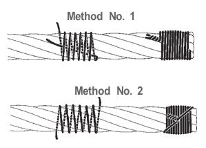 seizing-wire-methods